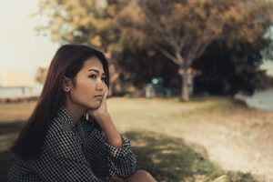 woman outside thinking about OCD Therapy