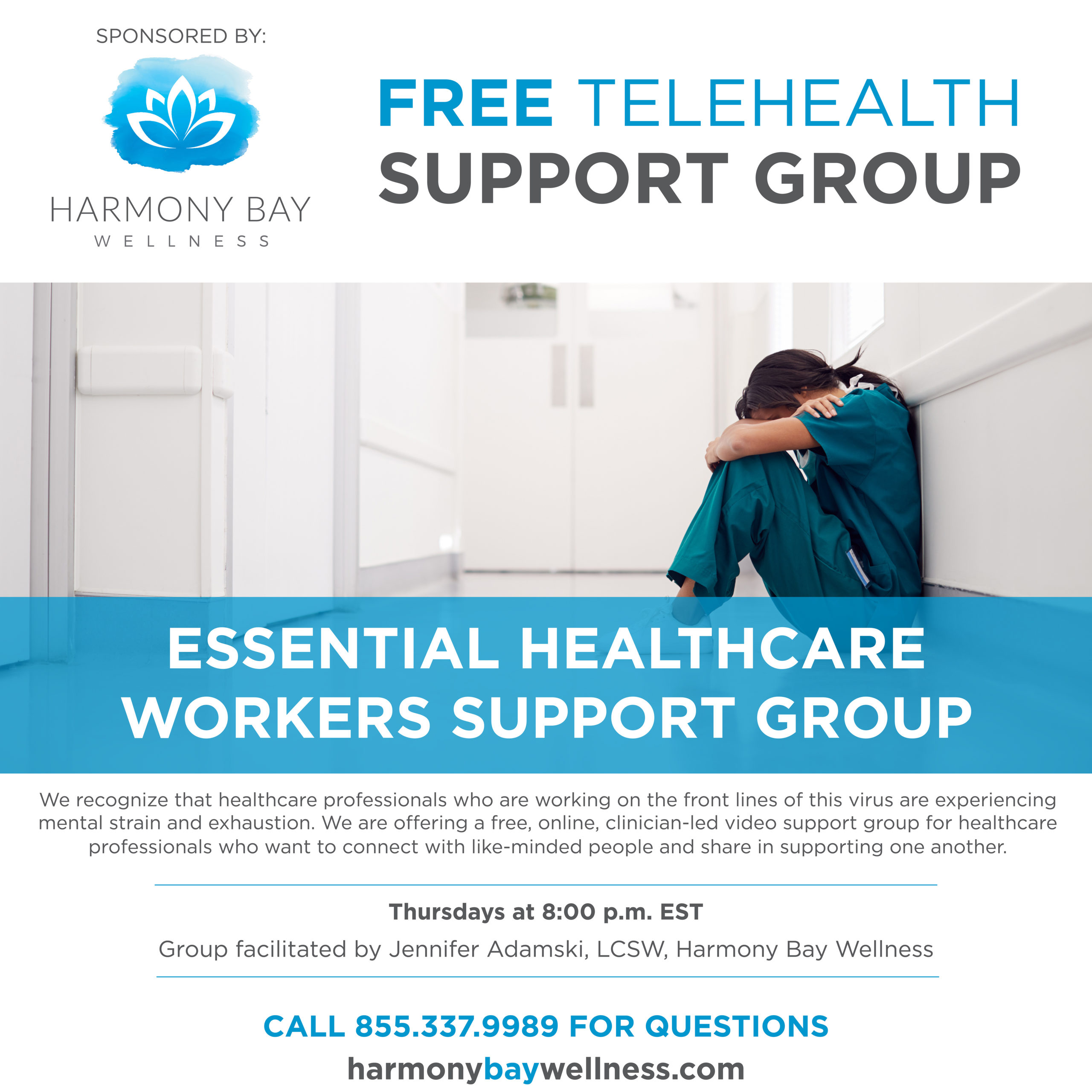 essential healthcare workers support group