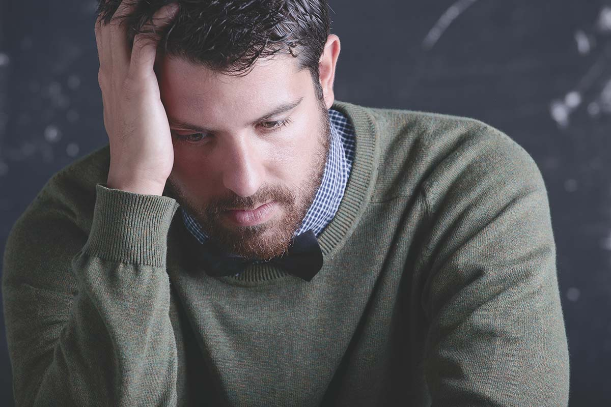 teacher needing to learn how to manage anxiety